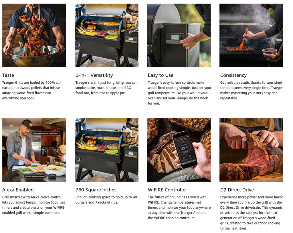 Traeger Pro 780 Grill Features